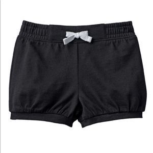 New Jumping Beans Solid Bubble Shorts Black